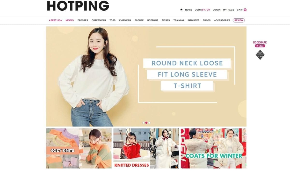 hotping online shopping clothes fashion