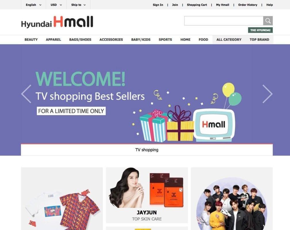 hyundai hmall online shopping korea
