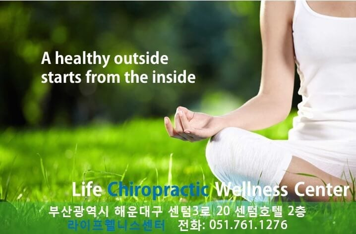 english speaking chiropractor korea busan life wellness center dr. ryan lee