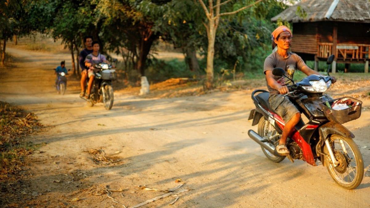 motorcycle thailand koh yao noi