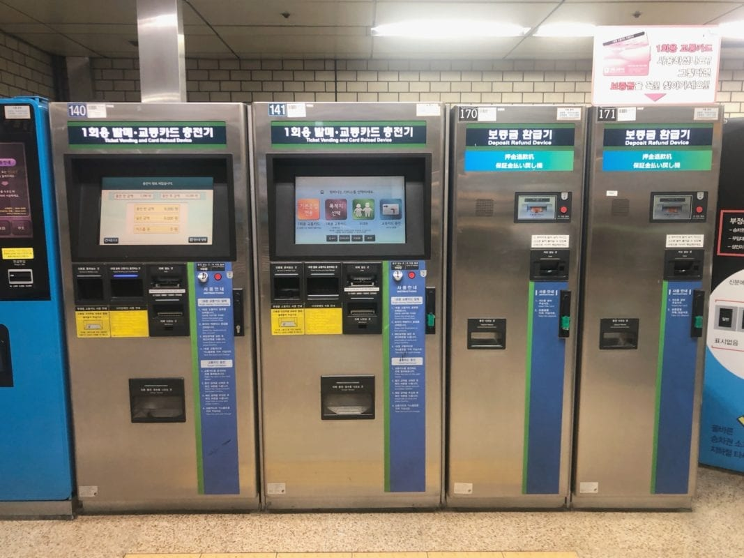 korean topup machine