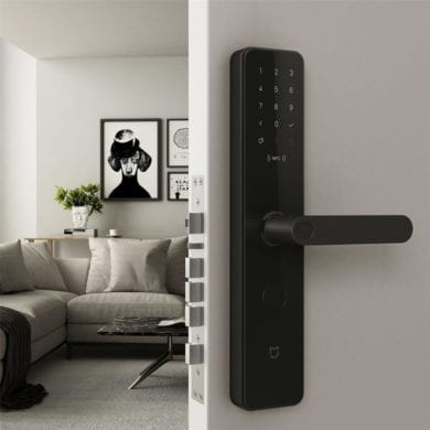 unlock digital door lock xiaomi