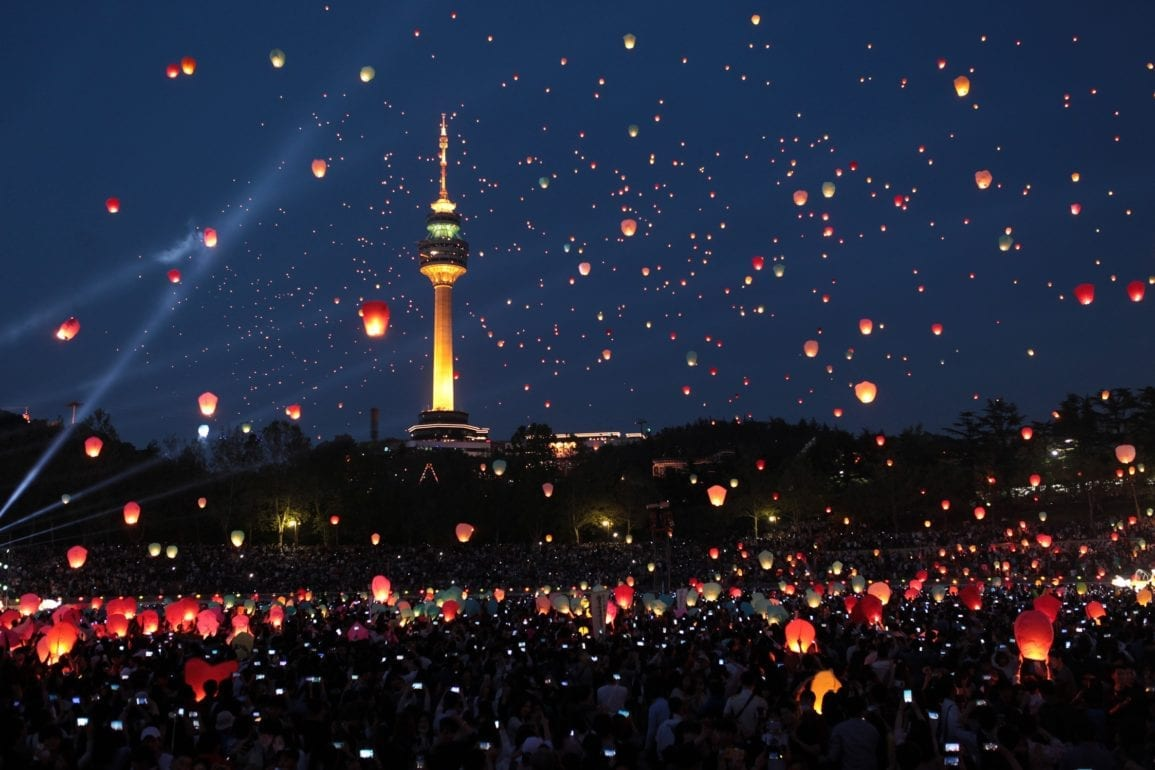 things to do in seoul korea april daegu lantern festival