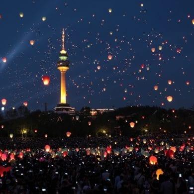 things to do in seoul korea april daegu lantern festival