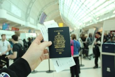 passport canada travel visa