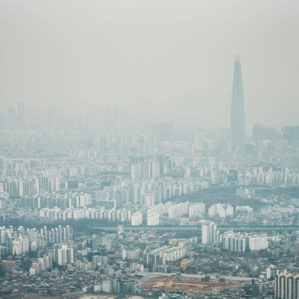 pollution in korea