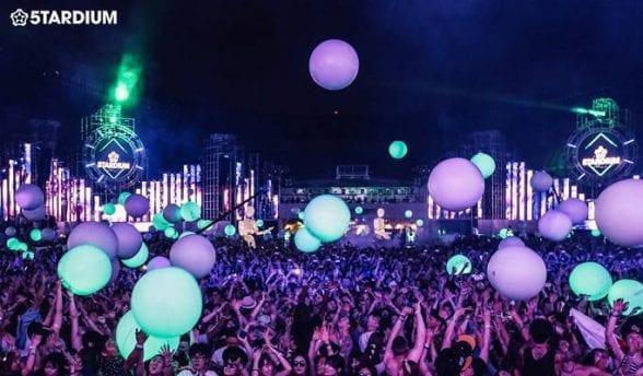5tardium stardium edm music festival korea seoul nanji hangang park summer