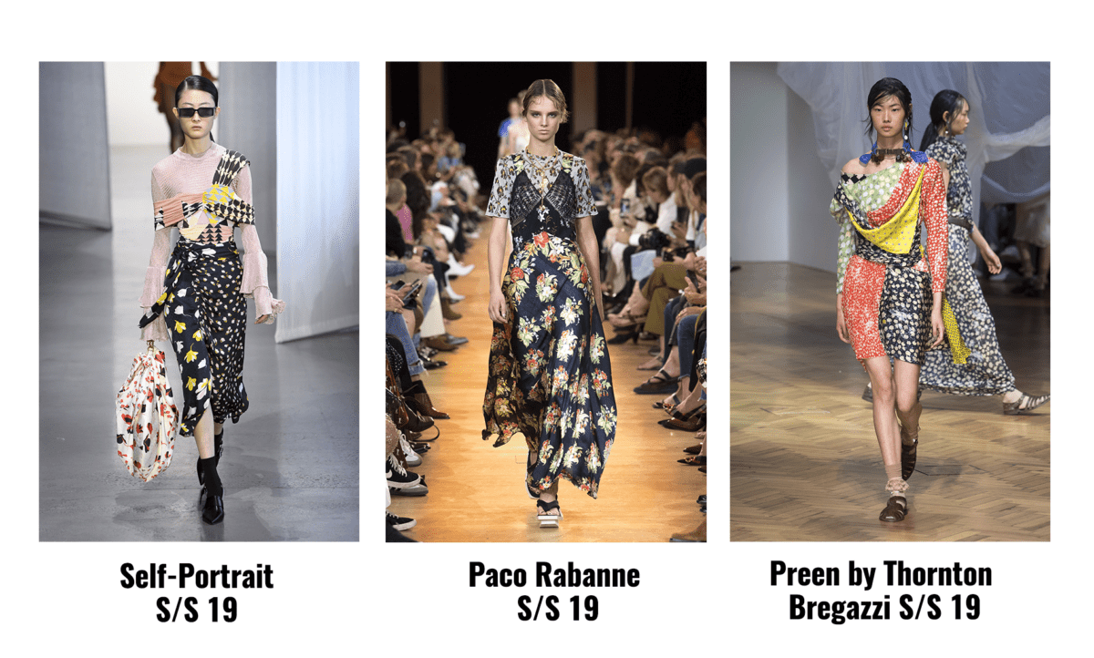 mixed print spring trend
