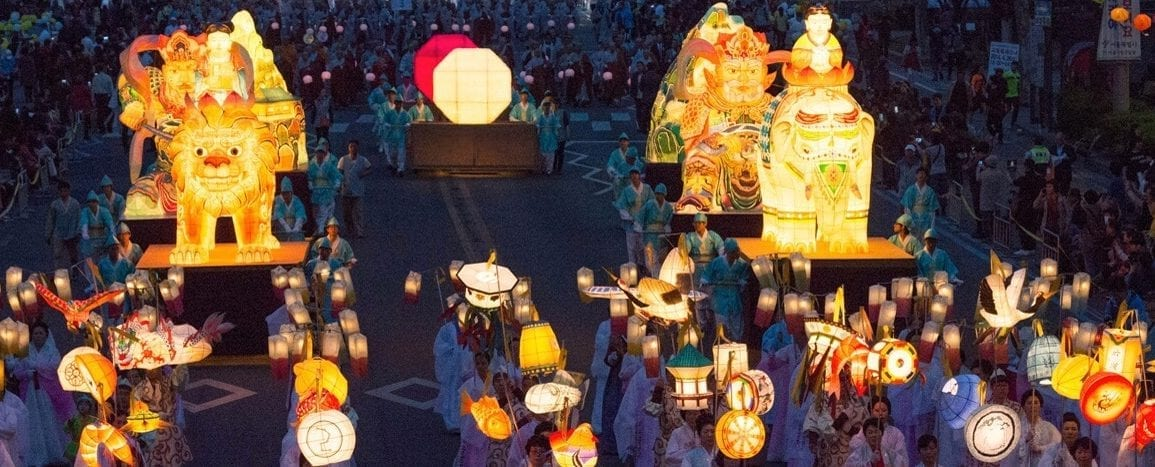 things to do in may korea lotus lantern festival seoul busan daegu 2019
