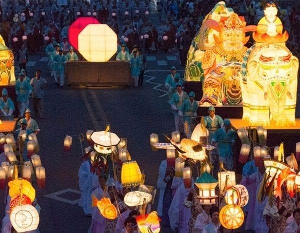 things to do in may korea lotus lantern festival seoul busan daegu 2019