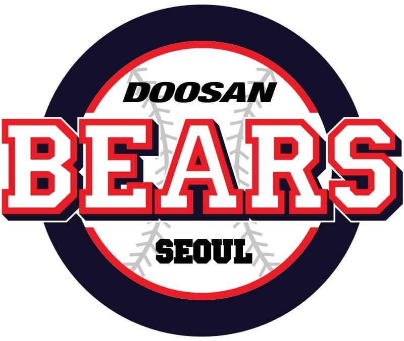 doosan bears kbo baseball korea team