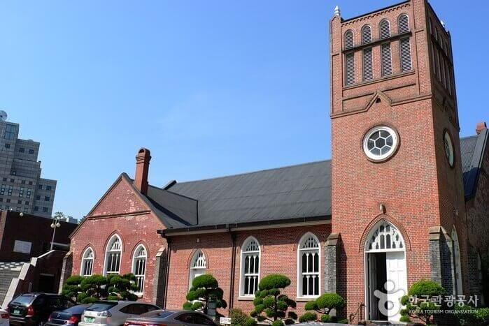 english churches korea chung dong first methodist church