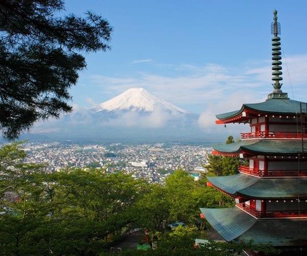 japan fuji travel