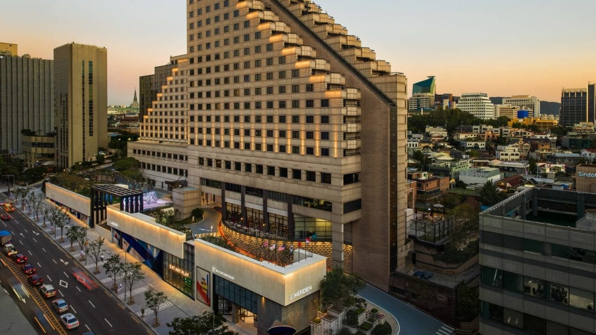 best places hotels seoul le meridien gangnam