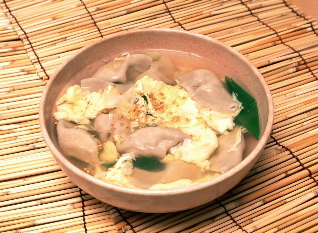 pheasant dumpling soup jeju specialty food