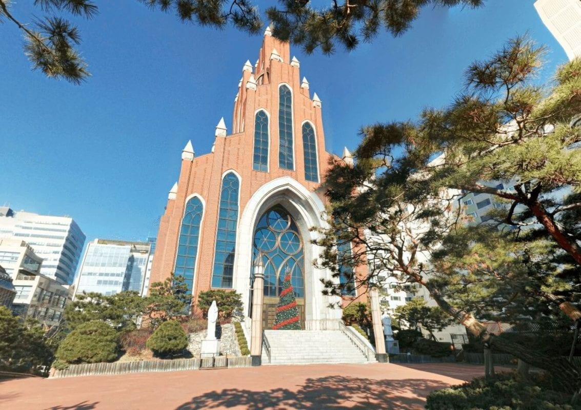 english churches korea yeoksam catholic church