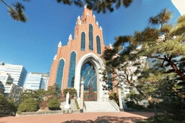 english churches korea yeoksam catholic church