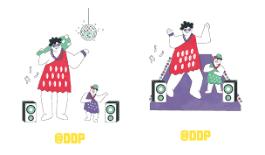 seoul bamdokkaebi night market ddp dongdaemun design plaza logo