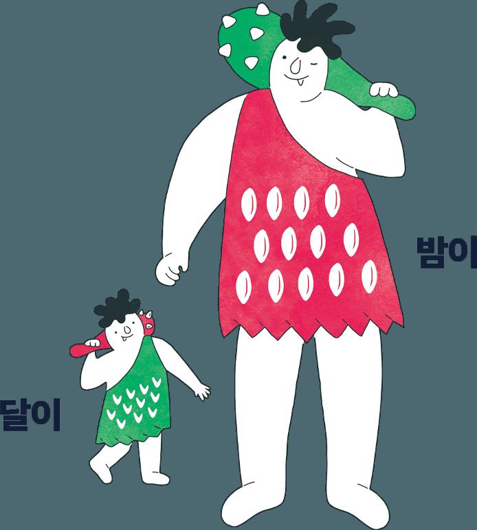 bamdokkaebi night market seoul mascot