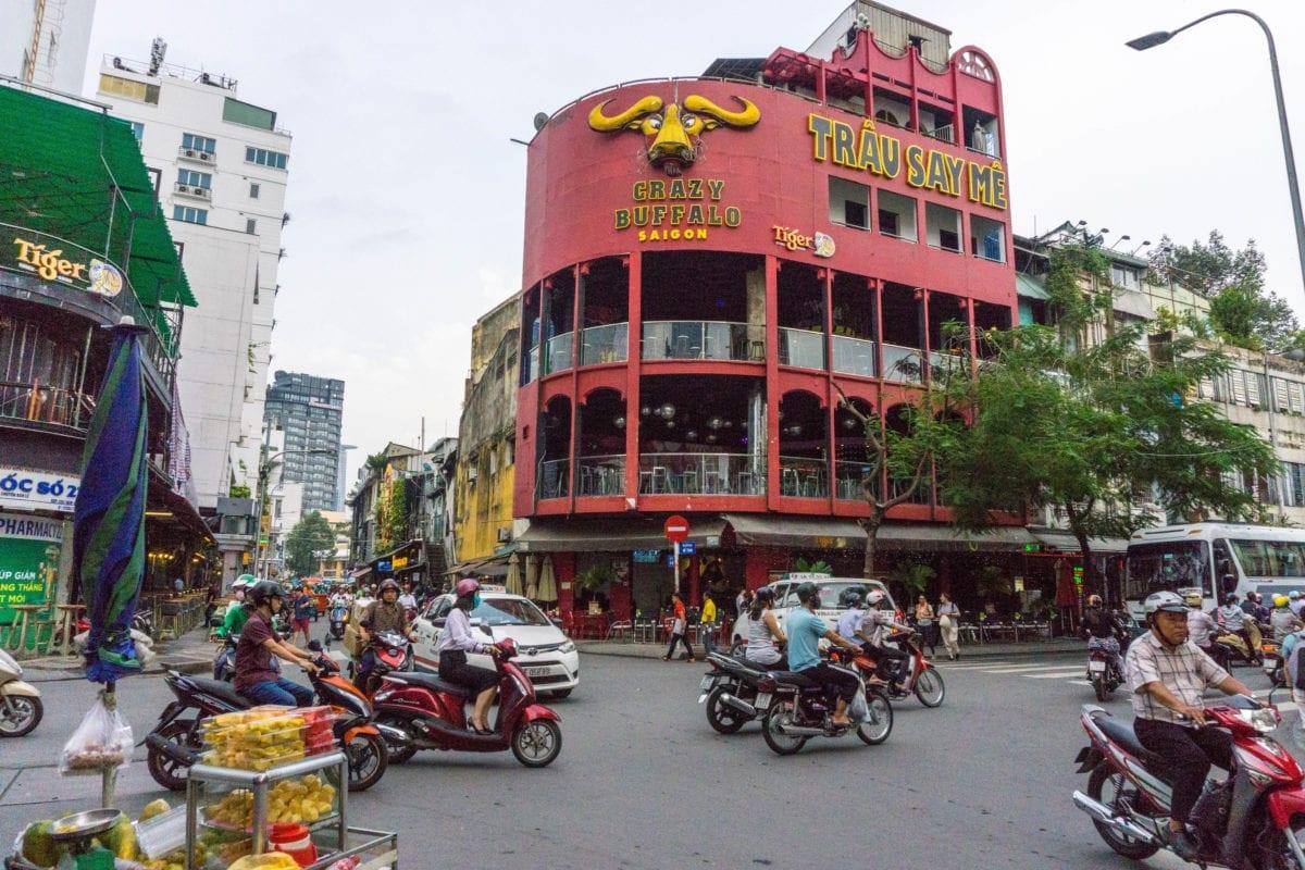 bui vien walking street ho chi minh vietnam