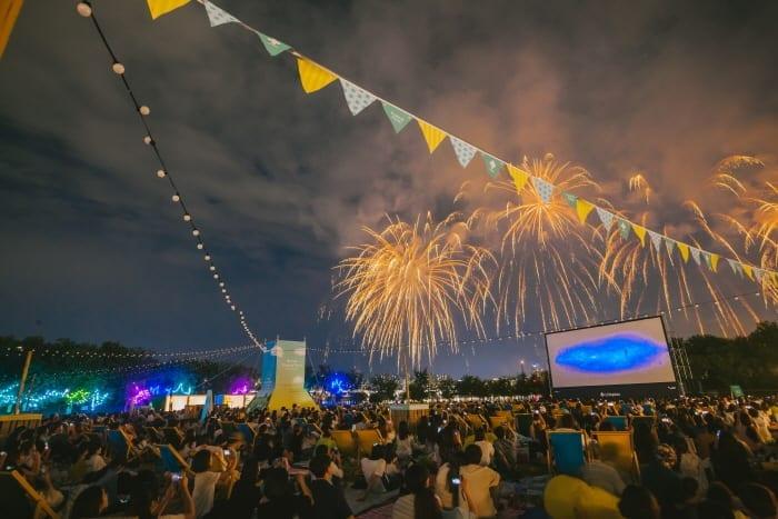 hangang summer festival mongddang festival han river fireworks