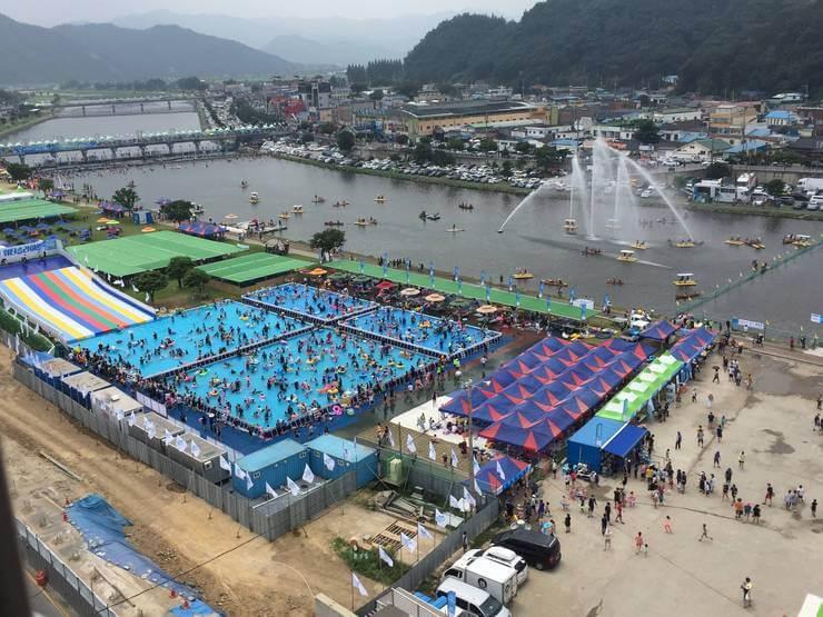 jeongnamjin jangheung water festival