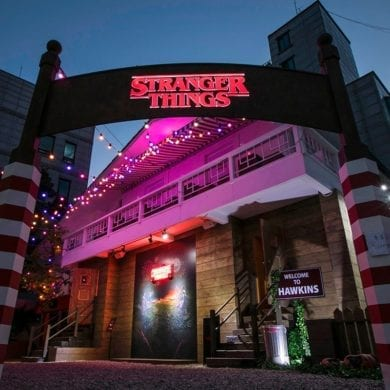 netflix stranger things seoul hongdae popup escape room