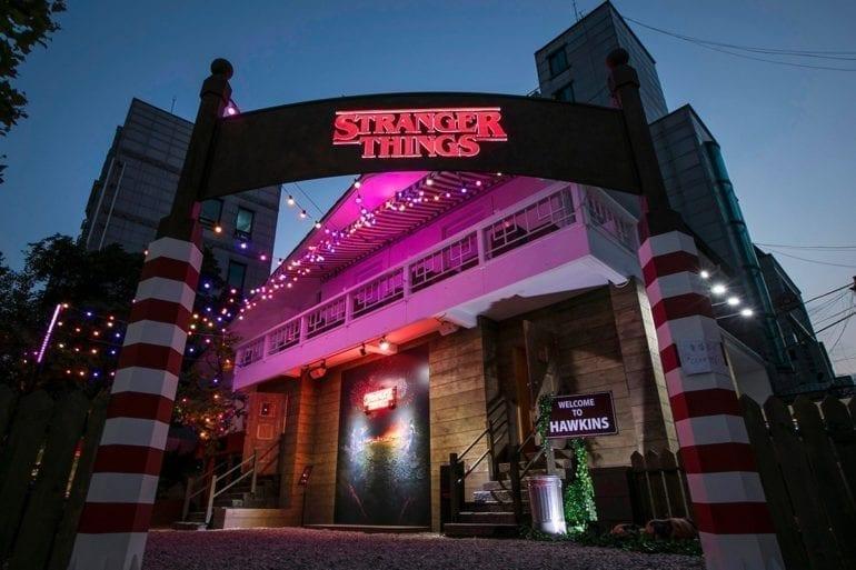 netflix stranger things seoul hongdae popup escape room