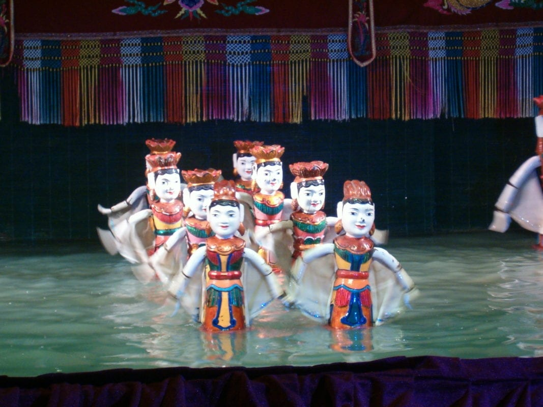 water puppet show ho chi minh
