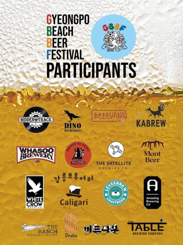 gyeongpo beach beer festival