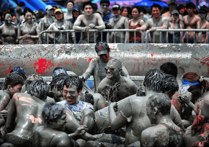 south korea boryeong mud festival summer july events things to do
