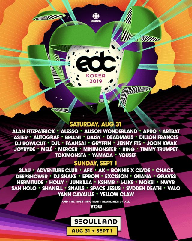 edc music festival