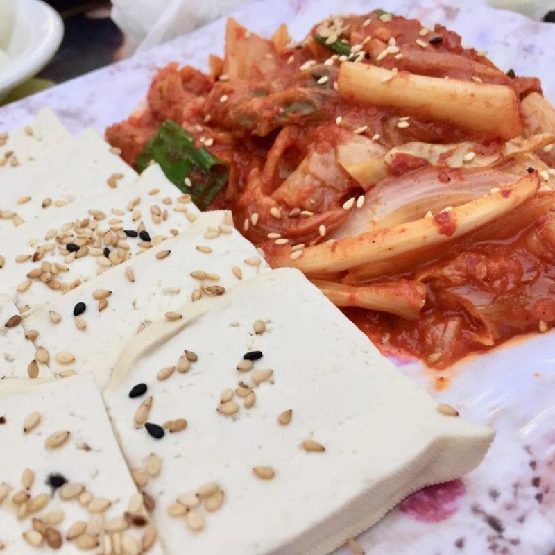 manseon pocha kimchi tofu