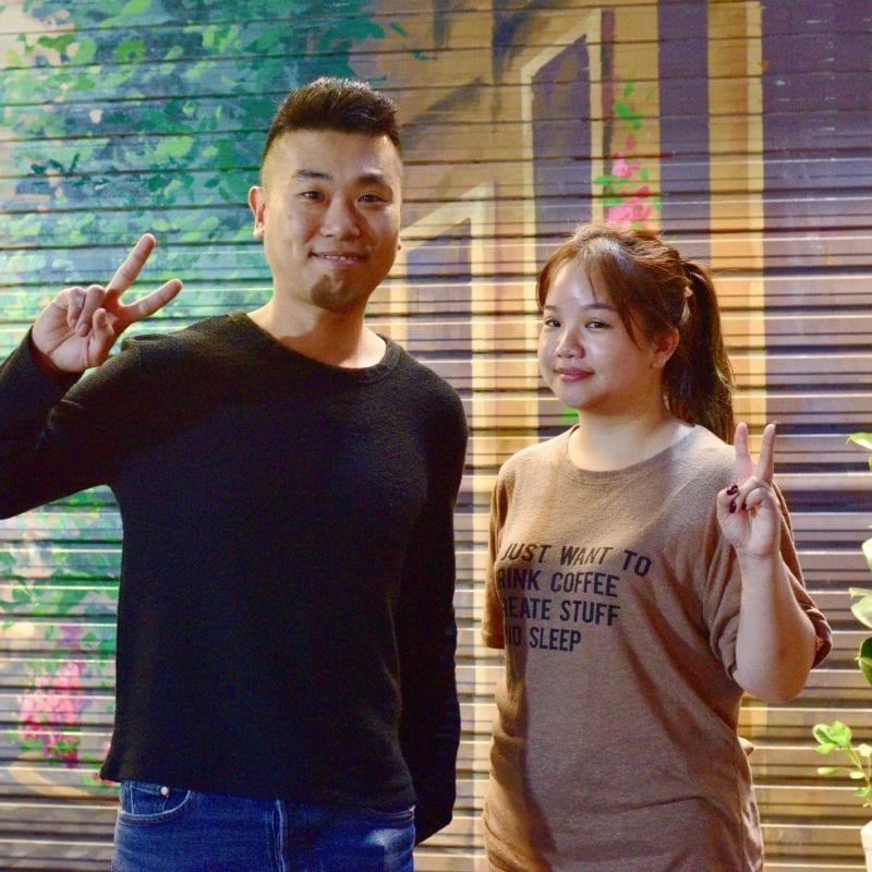 two sizes tiramisu seoul hongdae korea