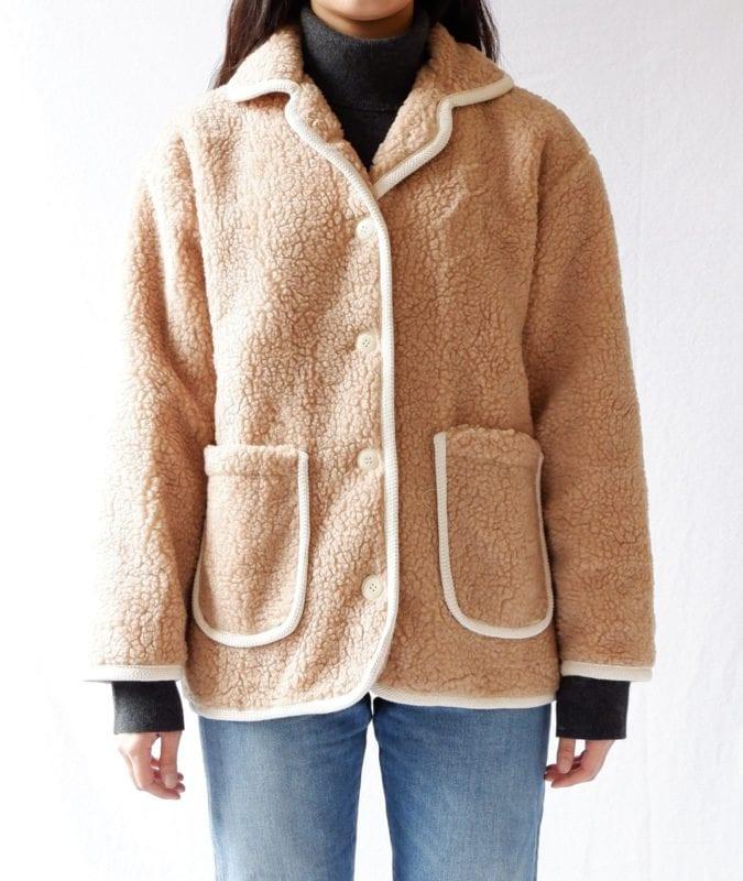 teddy bear jacket fall winter fashion korea korean 2019 trend