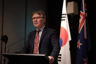 kiwi chamber new zealand embassy korea grand hui year end seoul hon david parker