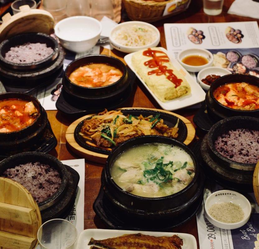 soondubu jjigae soft tofu soup restaurant seoul korean food