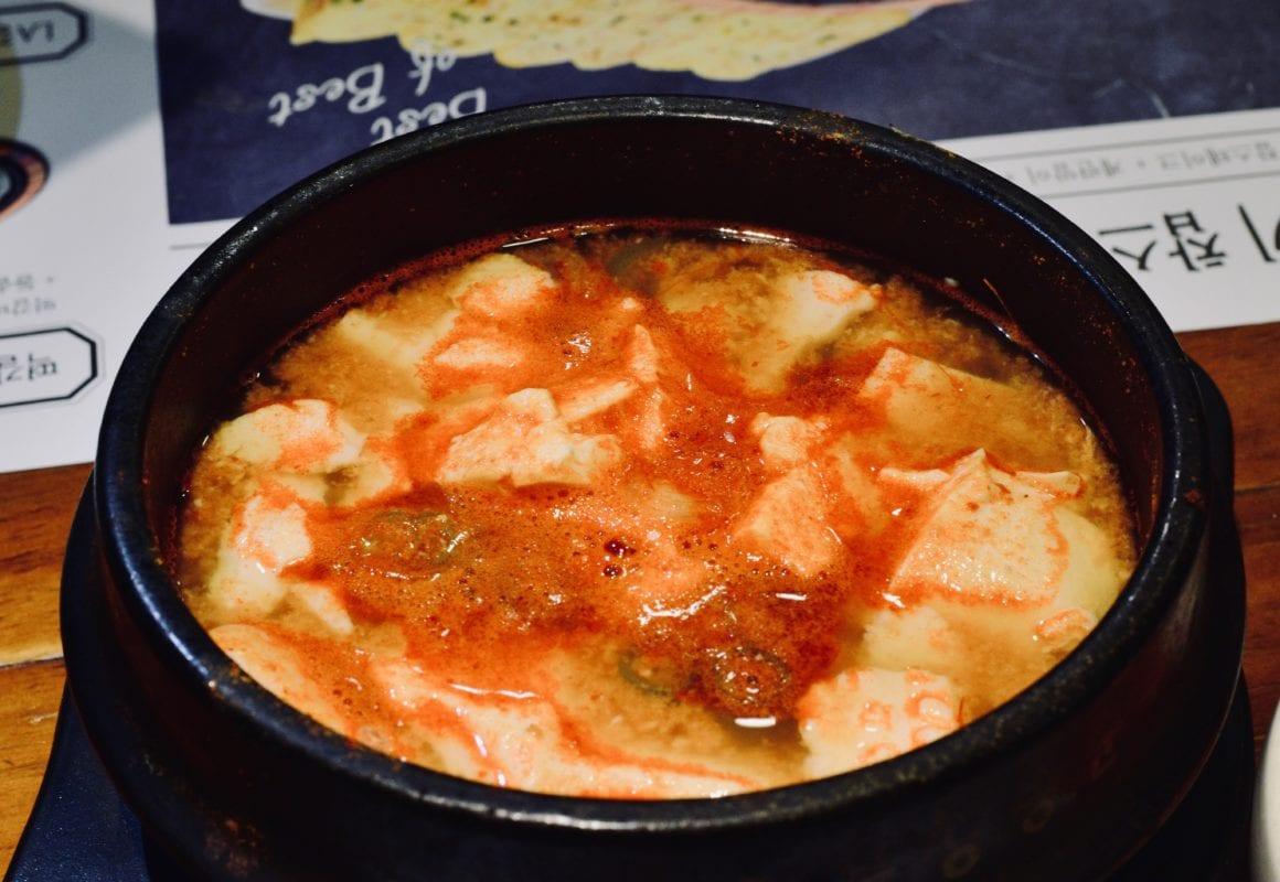 soondubu jjigae soup korean food