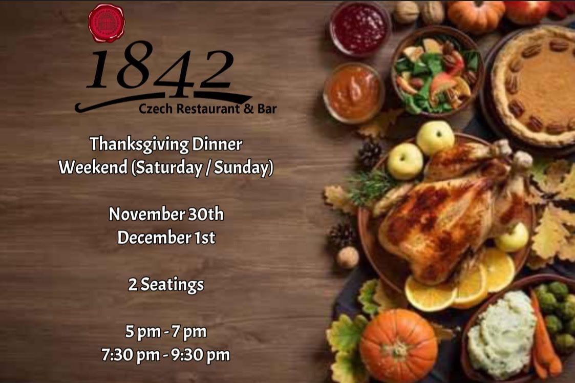 1842 restaurant itaewon thanksgiving american korea seoul