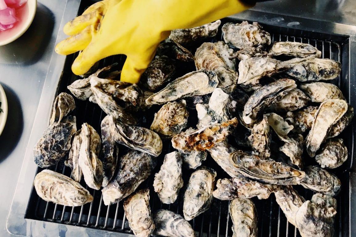grilled oyster korea