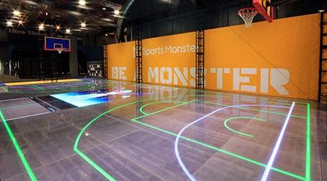 sports center basketball