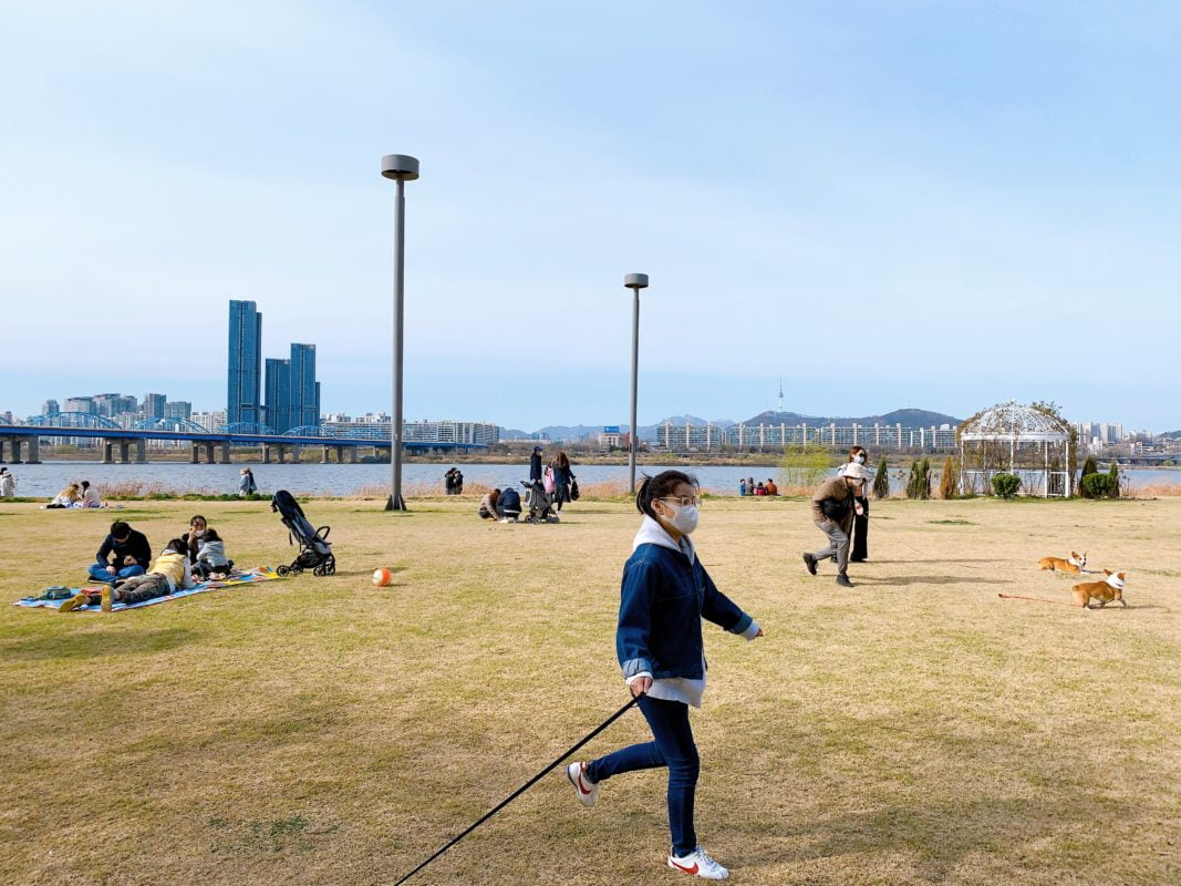 Han River Park in Seoul