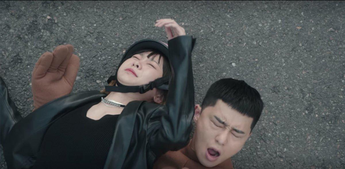 Kim Da-mi and Park Seo-joon