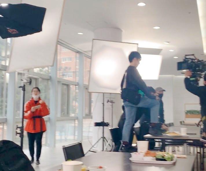 Filming a Korean Drama