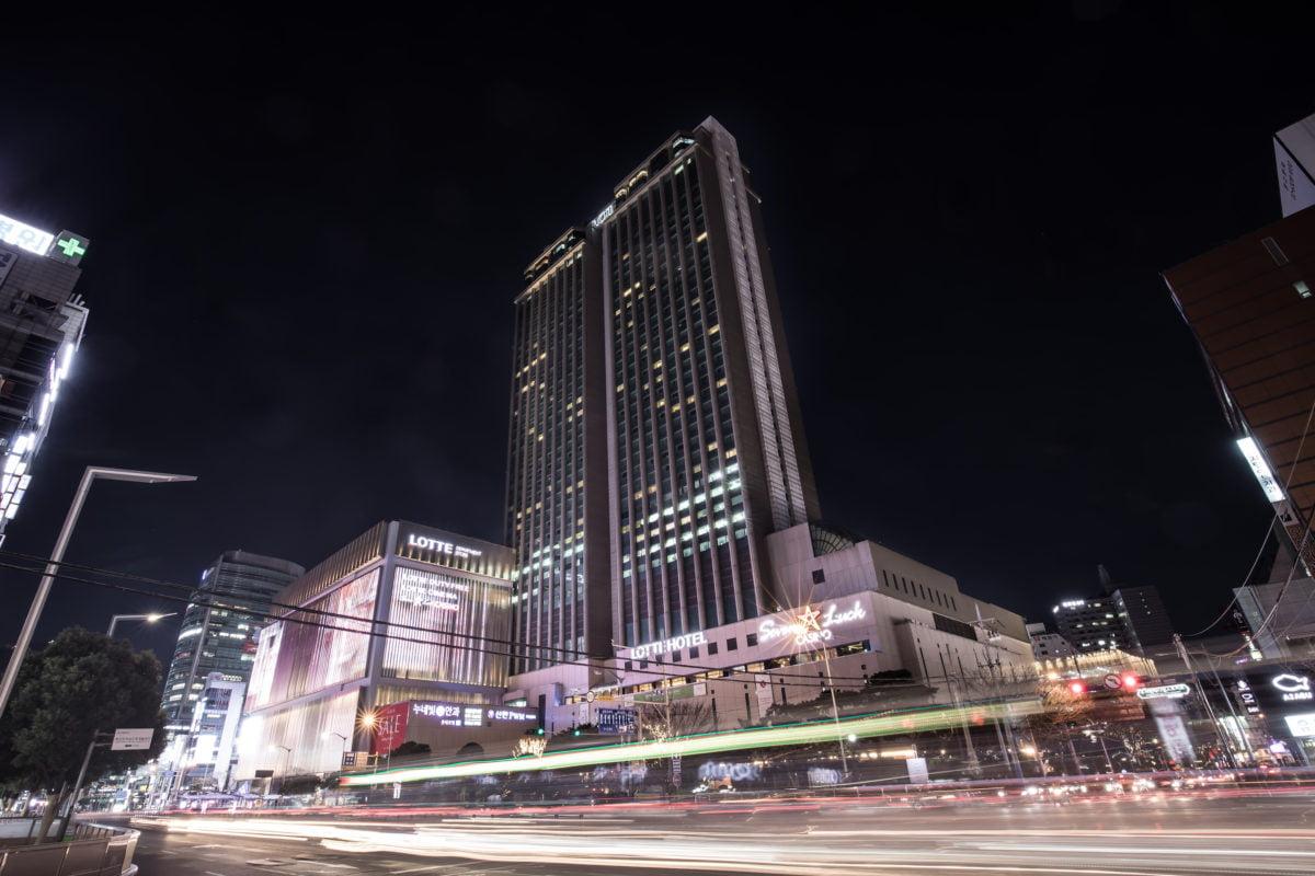 lotte hotel in busan