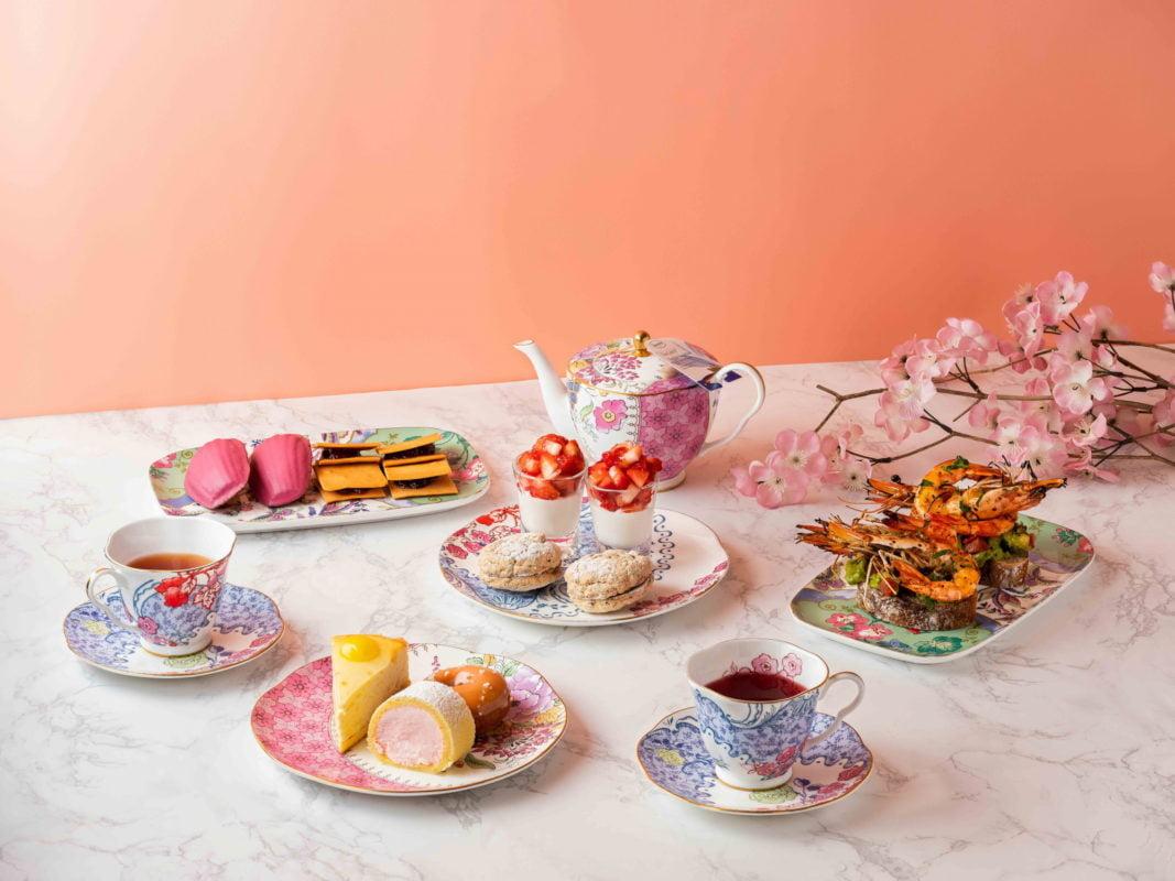 Tea set at Banyan Tree Seoul