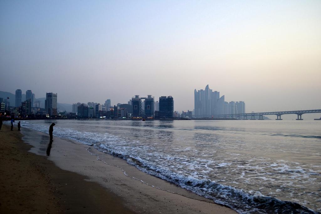 Gwangalli beach in busan