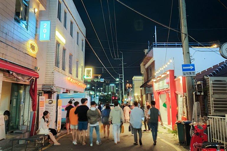 Gwangju's fusion food scene in dongmyeong-dong