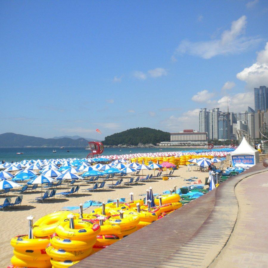 busan haeundae beach