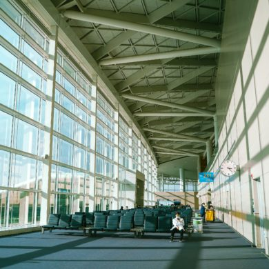 Incheon Airport in Seoul, South Korea